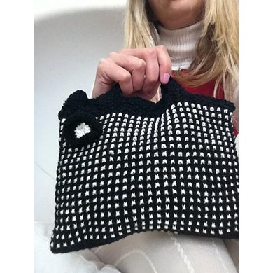 Mod Black and White Bag