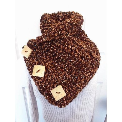 750 HECTANOOGA Crochet Cowl Scarf
