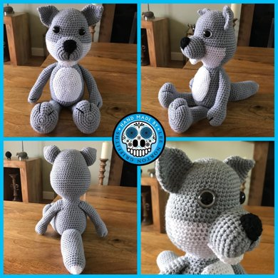 Wolf and Fox amigurumi pattern - Amigurumipatterns.net | 390x390