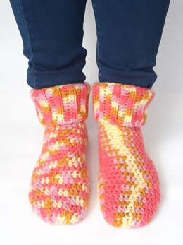 Super Simple Slipper Socks