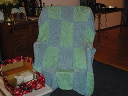 Susan's Squares Afghan (hard version)