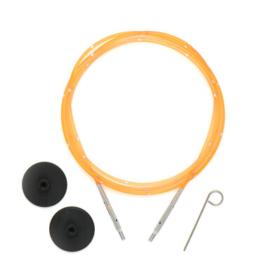 Knitter's Pride Smart Stix Orange Single Cord - 39in to make 47in needle Cable Needle (1 Piece)