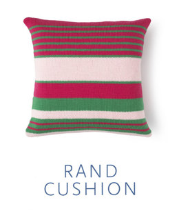 Rand Cushion Cover in MillaMia Merino Wool