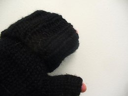 Fold mitts