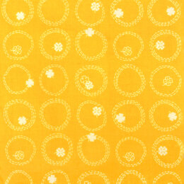 Figo Fabrics Lucky Charms - Yellow Clovers