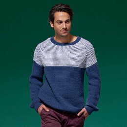 Sal Ribbed Raglan Jumper in West Yorkshire Spinners ColourLab - DBP0148 - Downloadable PDF