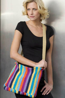Crochet Caracas Carryall in Tahki Yarns Cotton Classic Lite