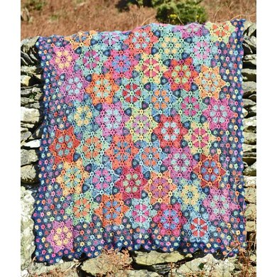 Twinkle, Twinkle Little Star Crochet Blanket