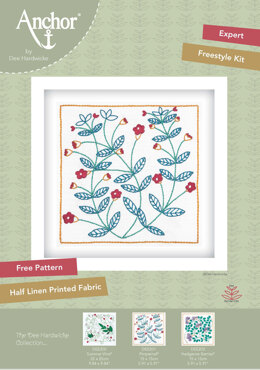 Anchor Dee Hardwicke Embroidery Kit - Pimpernel