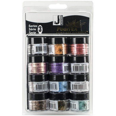 Jacquard Products Jacquard Pearl Ex Powdered Pigments 3g 12/Pkg - Series 3
