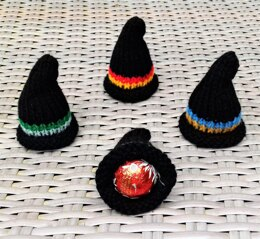 Hogwarts Wizarding Hats - Chocolate Egg Covers