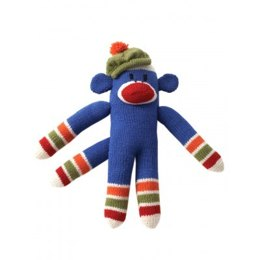 Knit Striped Funky Monkey in Patons Classic Wool Worsted