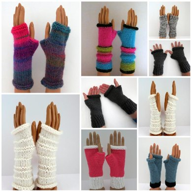 Mittens - 32 Patterns - Interchangeable Sections