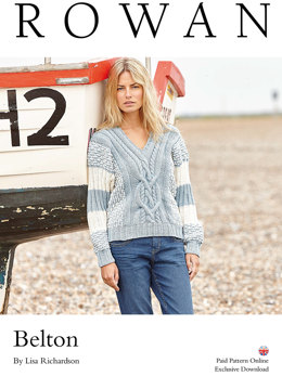 Belton Jumper in Rowan All Seasons Cotton