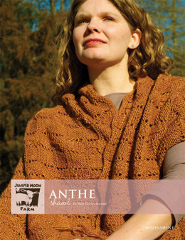 Anthe Shawl in Juniper Moon Moonshine - Downloadable PDF