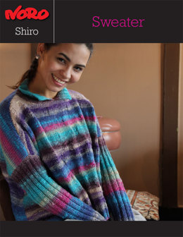 Sweater in Noro Shiro - Y-958