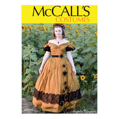 McCall's Misses' Costume M8017 - Sewing Pattern