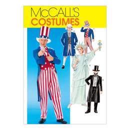 McCall's Adults'/Boys'/Girls' Costumes M6143 - Sewing Pattern