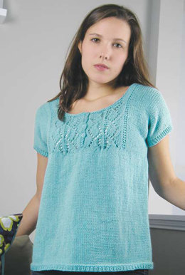 Gabriella Top in Knit One Crochet Too Dungarease - 2016 - Downloadable PDF