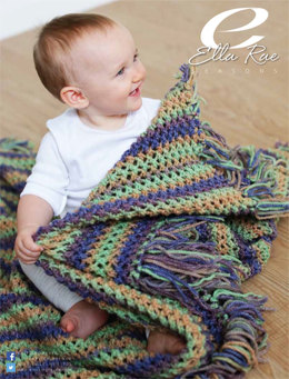 Baby Blanket in Ella Rae Seasons - ER15-02 - Downloadable PDF