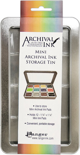 Ranger Mini Archival Storage Tin - 078294