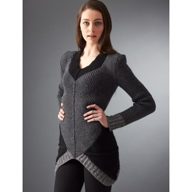 District 12 Sweater in Patons Metallic and Classic Wool DK