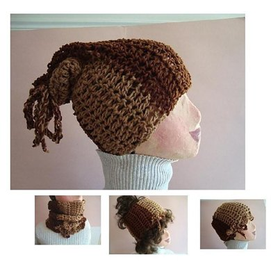 Crochet Pattern: 3-in-1 Hat, Cowl, Headband by Ashton11