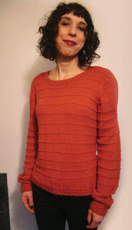 Cable Twist Jumper in UK Alpaca Super Fine DK - Downloadable PDF