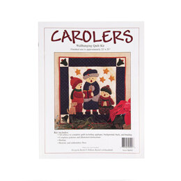 Rachel's Of Greenfield Carolers Quilt Kit