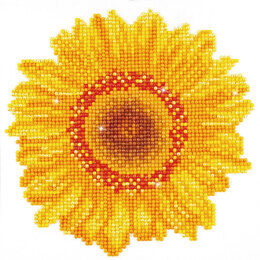 Diamond Dotz Happy Day Sunflower Embroidery Kit