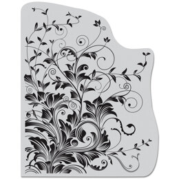 """Hero Arts Cling Stamps 4.5""""X5.75"""" - Leafy Vines"""