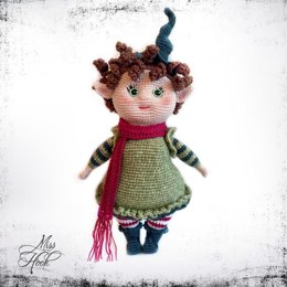 Miss Elfi (Miss Rubi Add-on) amigurumi doll crochet pattern