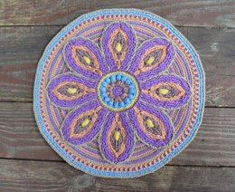 Mandala With Flower