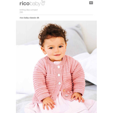 Textured Cardigans in Rico Baby Classic DK - 295