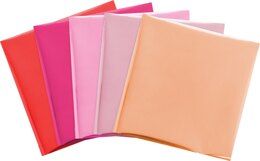 "We R Memory Keepers Foil Quill 12""X12"" Foil Sheets 15/Pkg - Flamingo-3 Each Of 5 Colors"