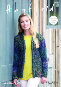 Jacket in Hayfield Illusion DK - 8109 - Downloadable PDF