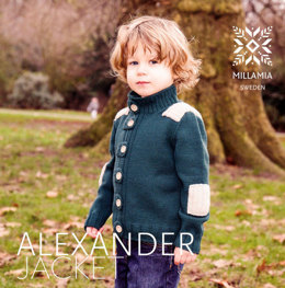 Boys' Alexander Jacket in MillaMia Merino Wool