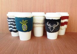 Felted Cup Cozy/Jacket/Sleeve