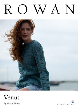 Venus Sweater in Rowan Creative Linen