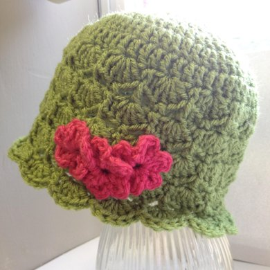 Green Leaf Hat