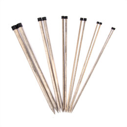 "Lykke Driftwood Single Point Needles 30cm (12"")"