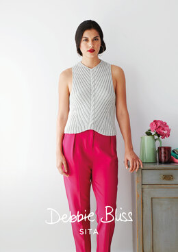Yolanda Top in Debbie Bliss Sita - Downloadable PDF