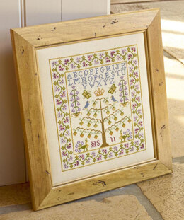Historical Sampler Company Tree of Life Cross Stitch Kit