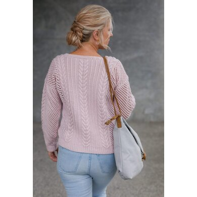 Cable Mesh Sweater