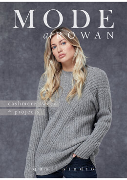 4 Projects - Cashmere Tweed by Rowan