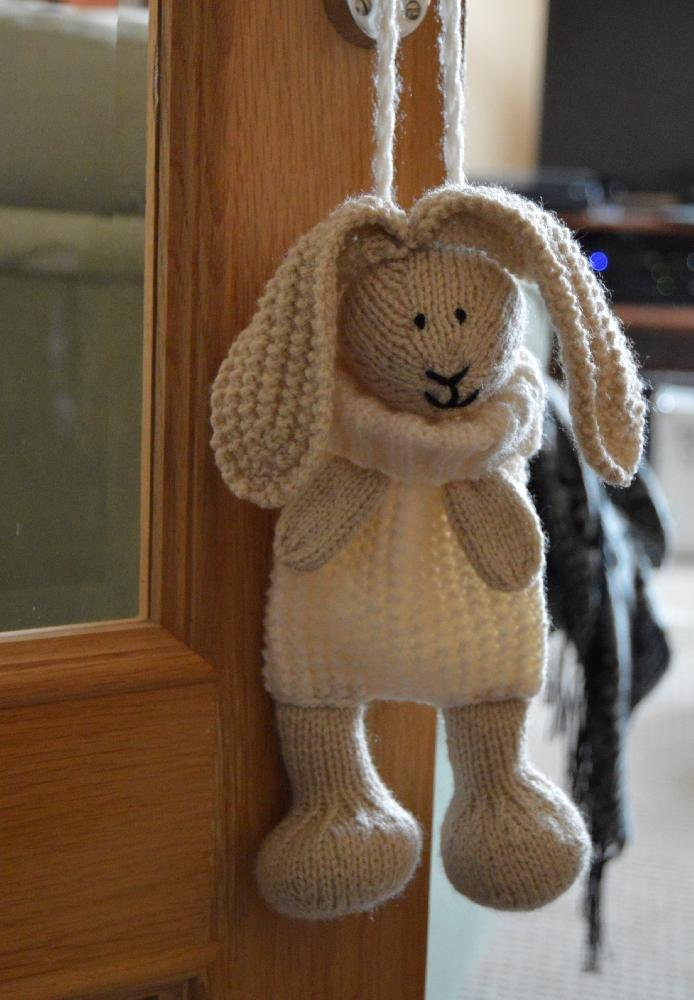 Knitting By Post Facebook : Bunny baggles easter pattern knitting by