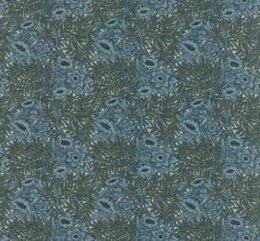 Moda Fabrics William Morris - Floral Tulip Willow 1873 Sky