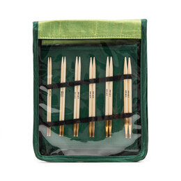 KnitPro Bamboo Interchangeable Needle Tips (Deluxe Set of 10)