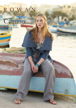 Camino Cardigan in Rowan Cotton Glace