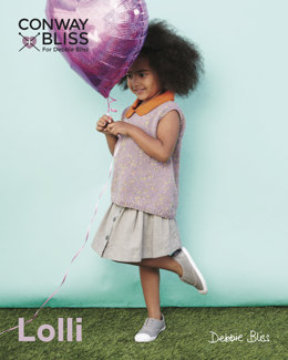 Collared Sleeveless Top in C+B Lolli & Debbie Bliss Baby Cashmerino - CB018 - Leaflet